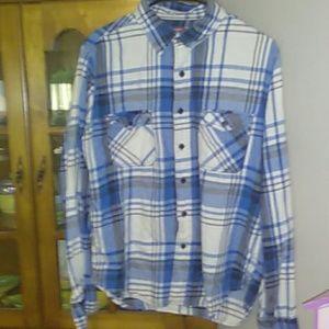 Mens Flannel Shirt/Medium